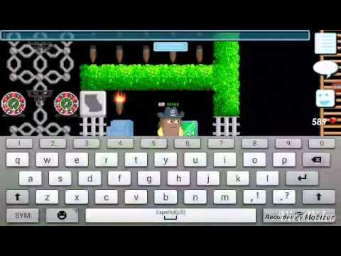 Growtopia - casino + block shifly