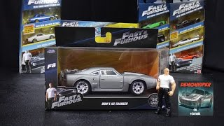 Fast & Furious 8 - Dom's Ice Charger -  Jada Toys 1:32 Unboxing