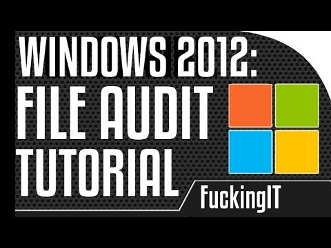 Windows 2012 - Audit deleted Files