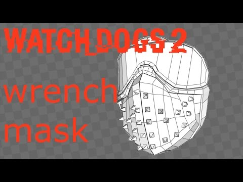 watch dogs 2 wrench mask free papercraft patreon link