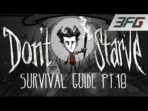 Don't Starve PS4 - Beginners Survival Guide Pt.18 - WINTERS ALMOST OVER!! (xX-SERVANT-Xx) 3FG