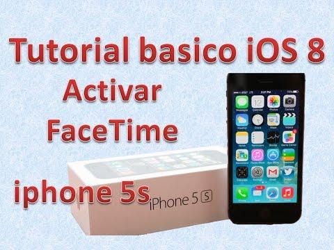 Tutorial y Guía de uso Iphone 5s parte 99 Cómo usar FaceTime