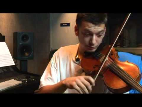 A Flat Violin Scale: Open Strings
