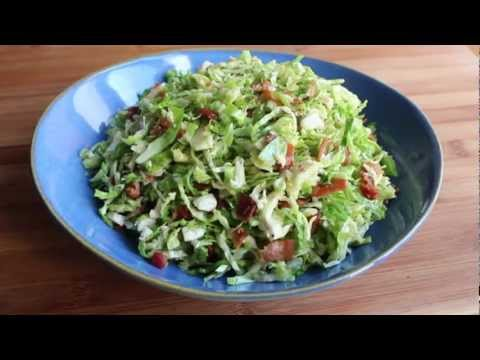 Brussels Sprouts with Warm Bacon Dressing - Thanksgiving Side Dish Recipe