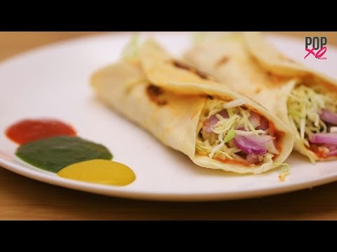 How To Make Cheese Veg Frankie   Vegetarian recipes - POPxo Food