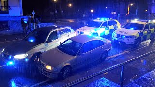 UK POLICE IN ACTION - BEST VIDEOS OF 2019! Police Cars Responding with lights and sirens!