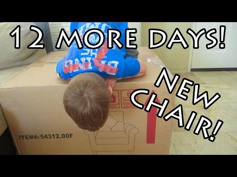 NEW CHAIR FOR THE NURSERY! (day 3)