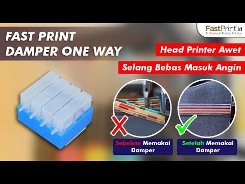 5 Menit Memasang Damper One Way, Solusi Head Printer Awet & Selang Bebas Masuk Angin