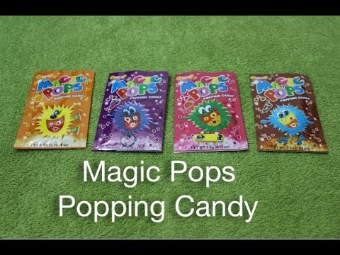 Magic Pops Popping Candy