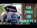 Value for money E36 track car build   The manual box goes in!   Part 3