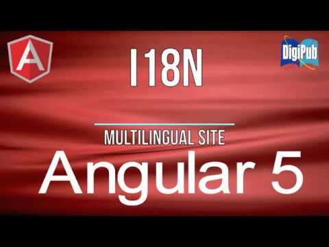 How to make a multilingual site by Angular5 (no voice)