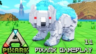 PixARK: TERROR BIRD TAME ALPHA TRIBE E09 !!! ( Pix ARK GAMEPLAY