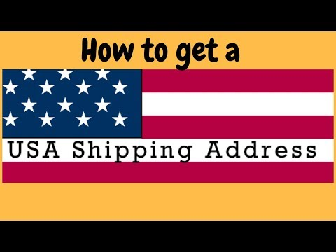 How to get  a USA shipping address for free