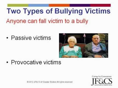 Combating Social Bullying among Older Adults