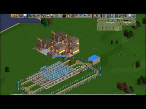 OpenTTD - Quick Money Maker | TRAINS ONLY | step by step guide