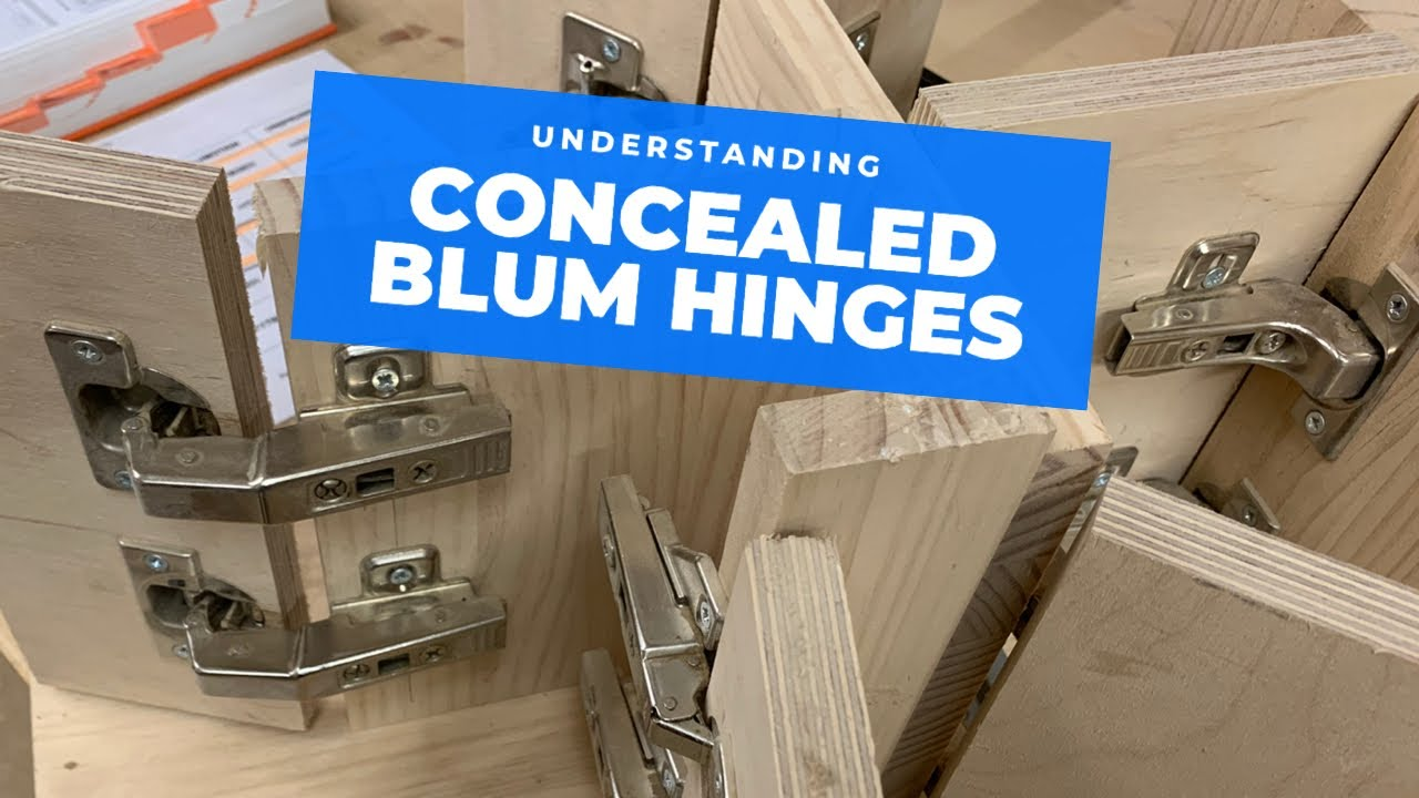 All the main Blum hinge types explained!