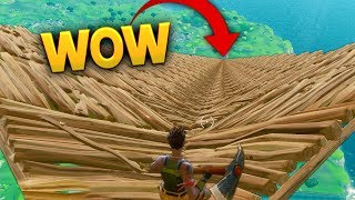 WORLDS BIGGEST BUILDING..?!   Fortnite Funny and Best Moments Ep.16