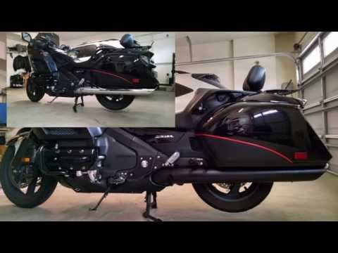 How to Remove and Paint Heat Shields / Exhaust on a Goldwing F6B (GL1800) with VHT Flameproof