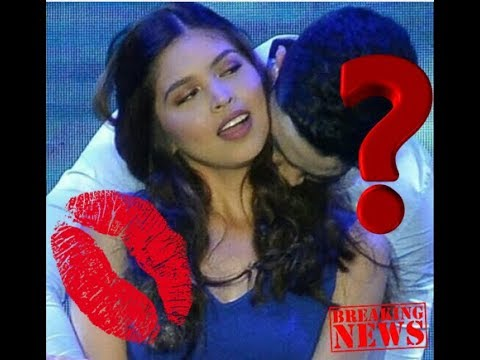BEST KISSING! Who IS This GUY?  He Kiss Manie Mendoza Neck!!! Where is The Alden Richards???