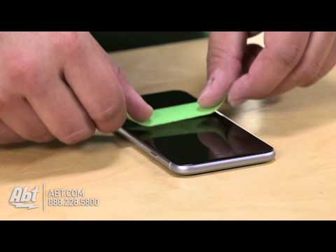 How To Put On Zagg Invisible Shield Glass For iPhone 6 and 6 Plus