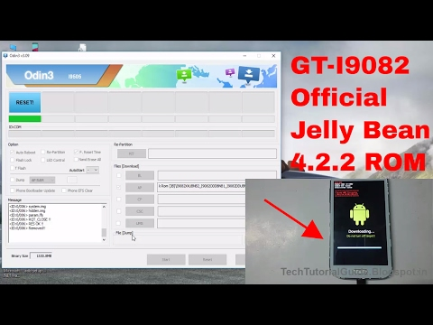How To Install Stock Jelly Bean [4.2.2] ROM On Galaxy Grand I9082 | 2017