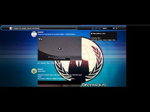 How to make Anonymouse Facebook Theme Free 100% Work