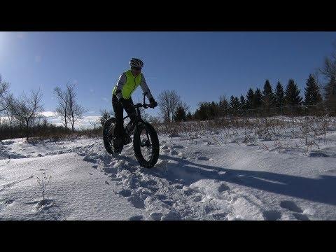 Winter Bike Trail Use - February 2018