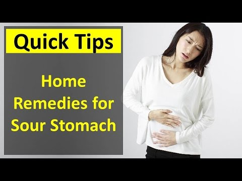Home Remedies for Sour Stomach - How to Get Rid of Sour Stomach