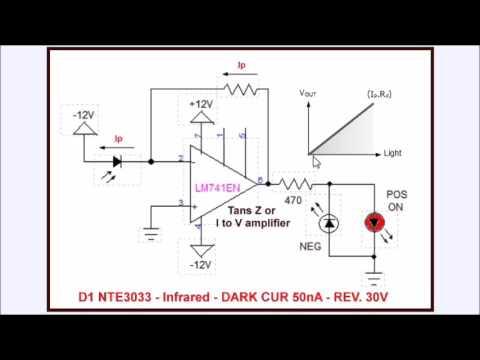 Photodiode Op-Amp Circuits