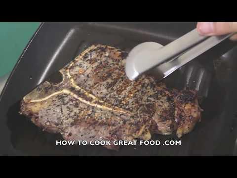 How to cook T-Bone Steak Recipe - Porterhouse T Bone Grilled