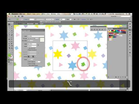 Lesson 8a Create a Sprinkles Pattern in Adobe Illustrator CS6