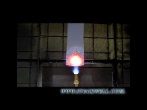 UL 94 V-0 Flame Retardant Silicone Sponge Burn Test