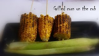 Smokey Grilled Corn On Stove Top Beach Style