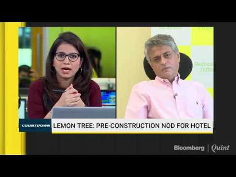 Lemon Tree: Expect Revenue To Improve By 5-10% For Chain Vs Individual Hotels