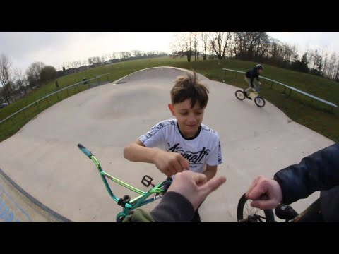 CRAZY 7 YEAR OLD SHOWS US HOW ITS DONE !