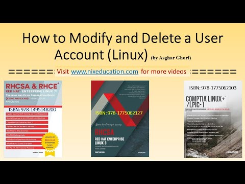How to Modify and Delete a User Account in Linux