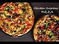 Chicken Supreme Pizza Recipe | Home made | RecipesAreSimple