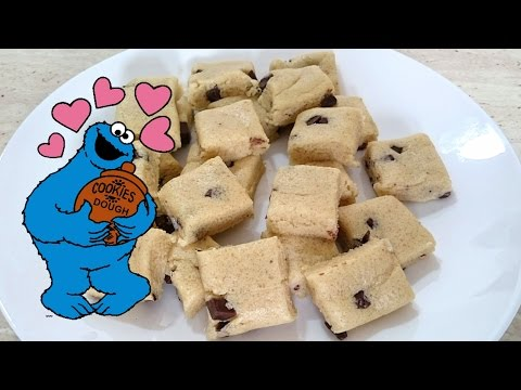Easy Cookie Dough Bites Recipe | No Bake | Edible | The Cooking Library