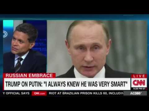 CNN NEWS YAKURA: TRUMP ON PUTIN: