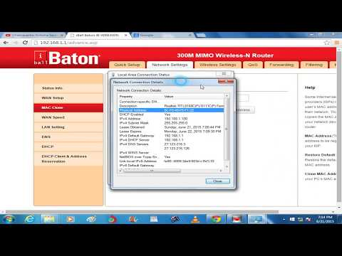 iBall Baton Router 300M wireless n+router modem + wifi configuration || How to Settings || setup