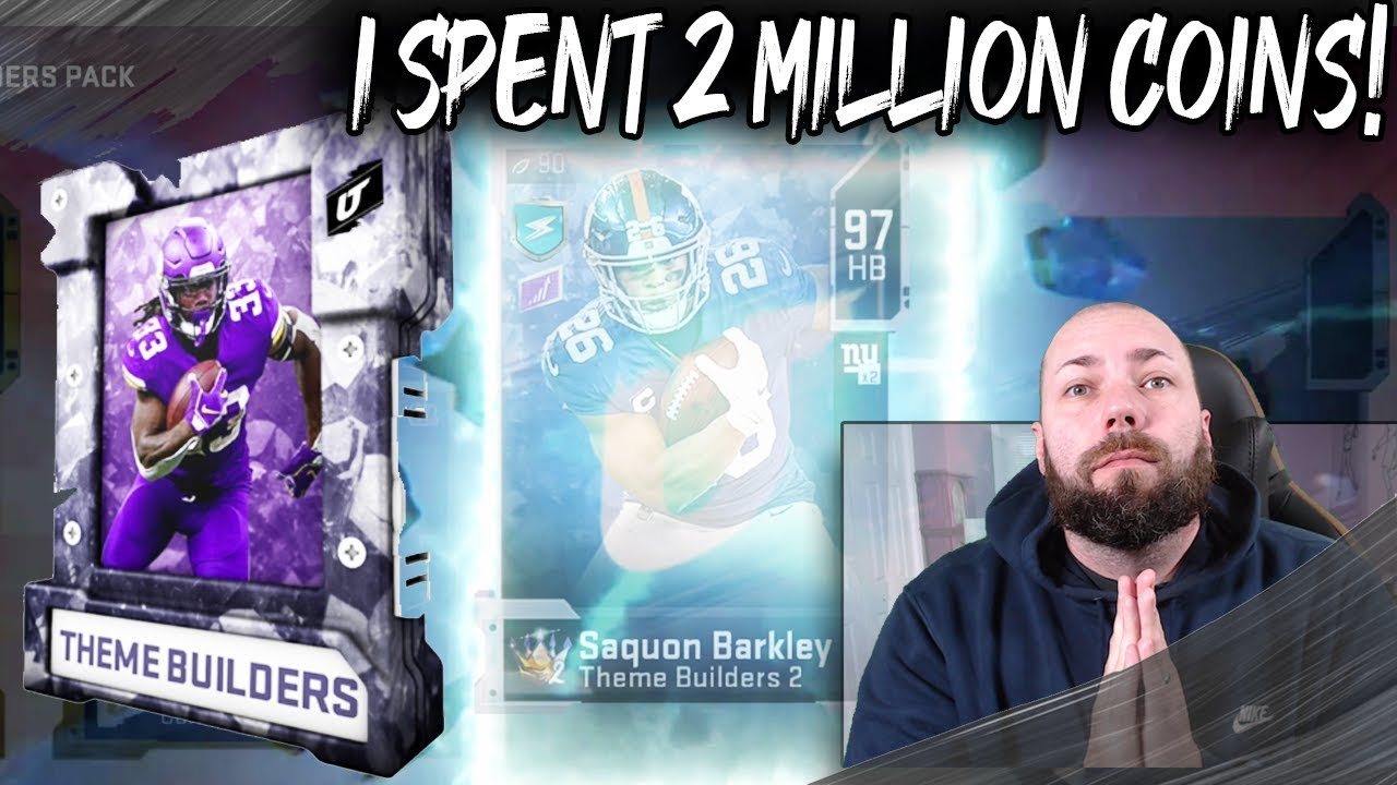 I SPENT 2 MILLION COINS TRYING TO GET TEAM MVPS! [MADDEN 20 ULTIMATE TEAM]