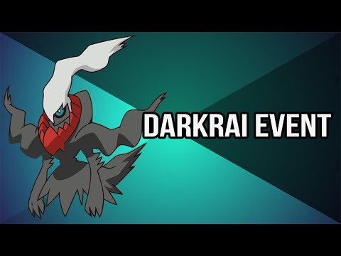 Pokémon ORAS/XY : Mythical Darkrai Mystery Gift Event