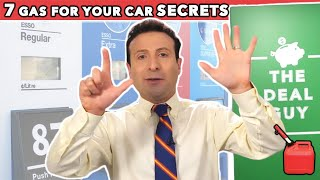 7 SECRETS GAS STATIONS DON'T WANT YOU TO KNOW! (Save $$$ on Gas!)