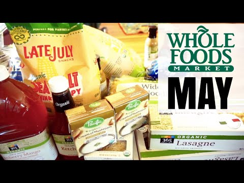 $200 WHOLE FOODS HAUL | STOCK UP SHOPPING AT WHOLE FOODS | ORGANIC WHOLE FOODS HAUL