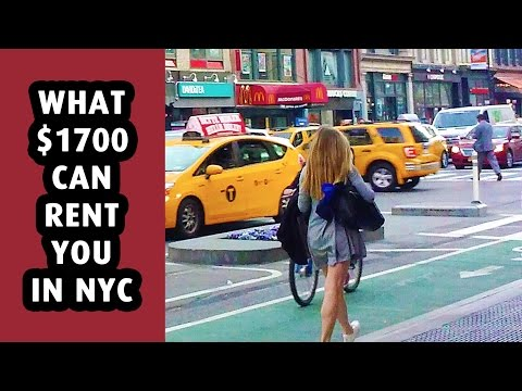 What $1700 can rent you in New York City?