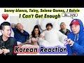 [ENG SUB]🔥🔥 KOREAN BOYS React To BENNY BLANCO, SELENA GOMEZ, TAINY, J BALVIN - I CAN'T GET ENOUGH
