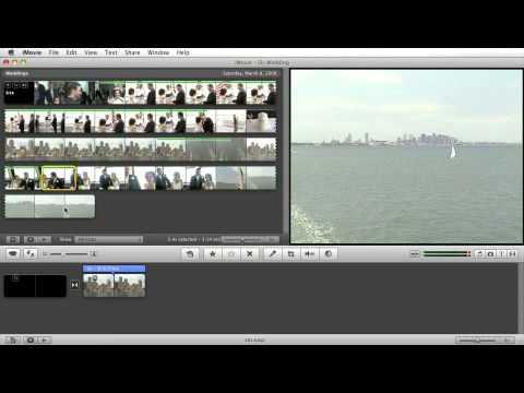 iMovie Tutorial: Marking Tool