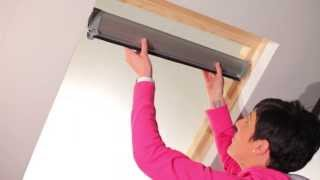 Velux Blinds How To Fit Our Blinds For Velux Windows In 3 Minutes Or