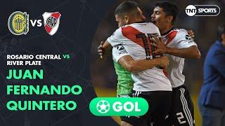 Juan Quintero (0-1) Rosario Central vs River Plate   Fecha 15 - Superliga Argentina 2018/2019