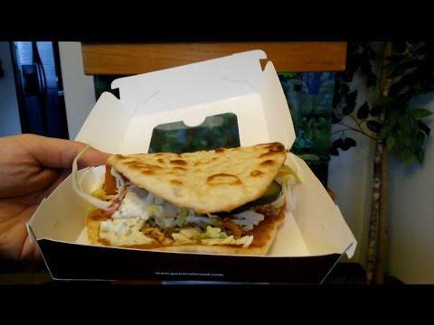 Panera Bread Mediterranean Chicken Flatbread Sandwich Review